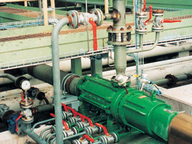 Sealless Magnetic Coupled Multistage Centrifugal Pumps